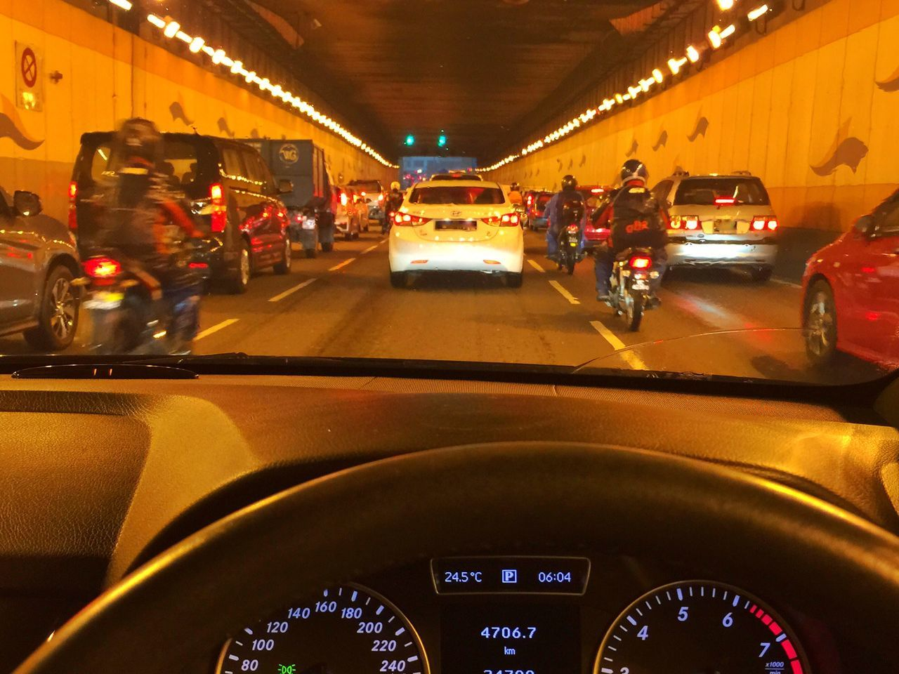 Inside Car View Kuala Lumpur City Center Taking Photos Relax The Photojournalist – 2016 EyeEm Awards Tunnel Road Traffic Jam. Patience Meter No People Car My Commute Need For Speed