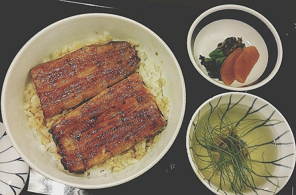 Unagi Lunch Food Tokyo, Japan Travel Photography