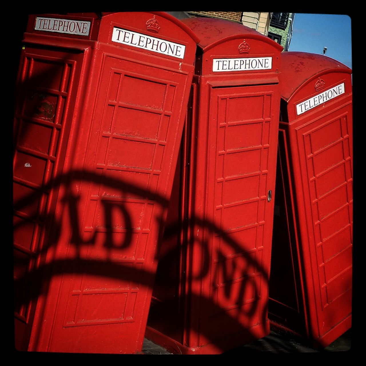 Red Phonebox Old Red Phone Box Redphonebox Tradition Kingston Upon Thames Art Artinstallation