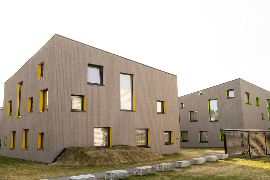 Architecture Building Exterior Built Structure Campus Kjølnes Day House No People Norway Norway🇳🇴 Outdoors Porsgrunn Residential Building Sky Window