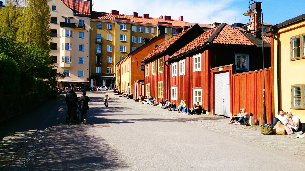 At Nytorget in Stockholm a sunny spring day. . EyeEm Best Shots Eeyem Photography Stockholm Sweden