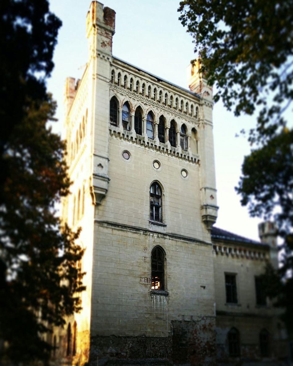 Galanta Tower At The Park Old Building