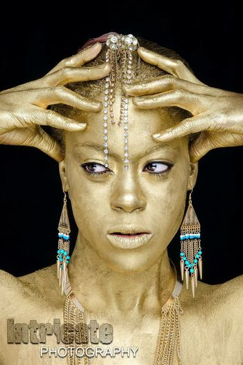 Endygo Golden II Golden Portrait Beautiful Studio Photography Intricate Photography