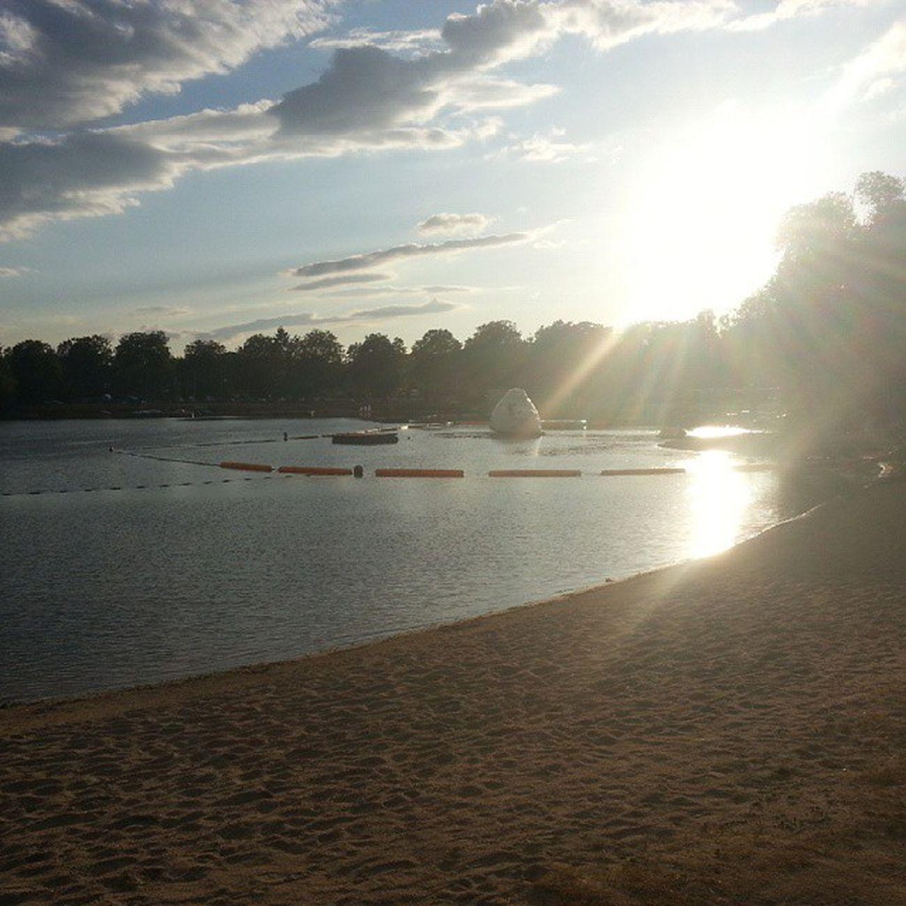 Offenburg Campenamsee Sunset