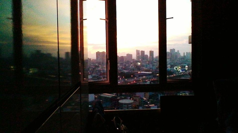 Sunset..