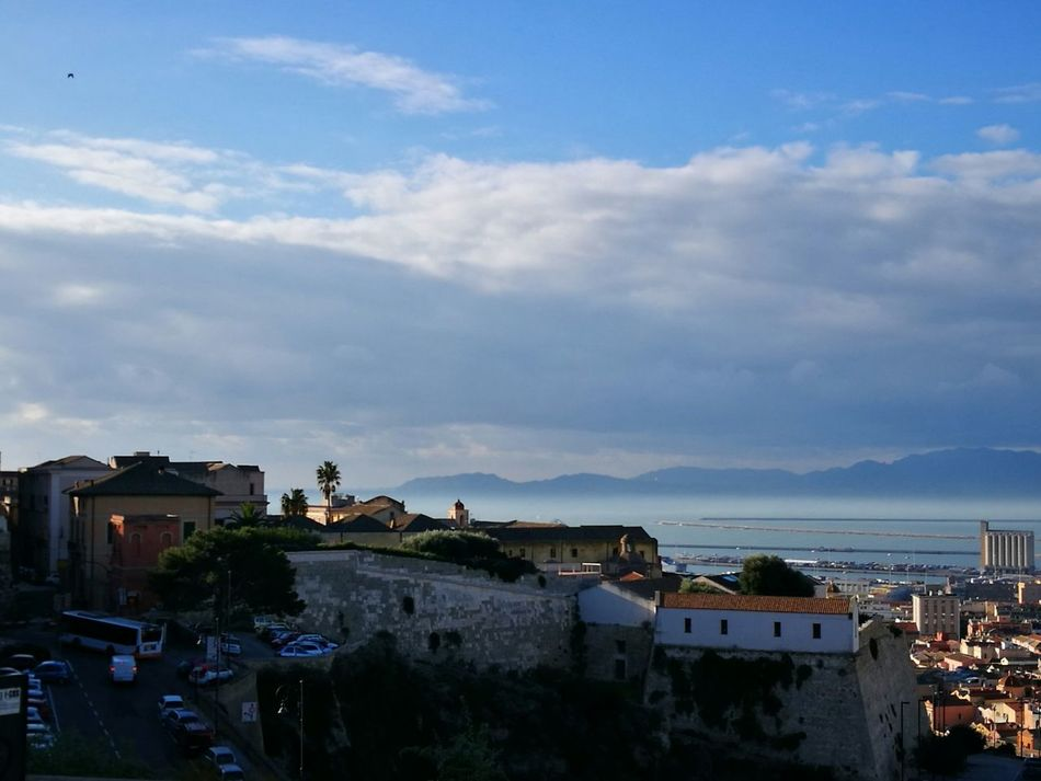 City Cityscape Cloud - Sky Sky Sea No People Cagliari Urban City Cagliari, Sardinia Water Outdoors Day