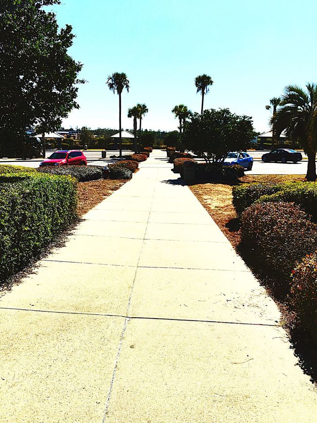 Coming Out Of The Welcome Center In Pensacola Florida.