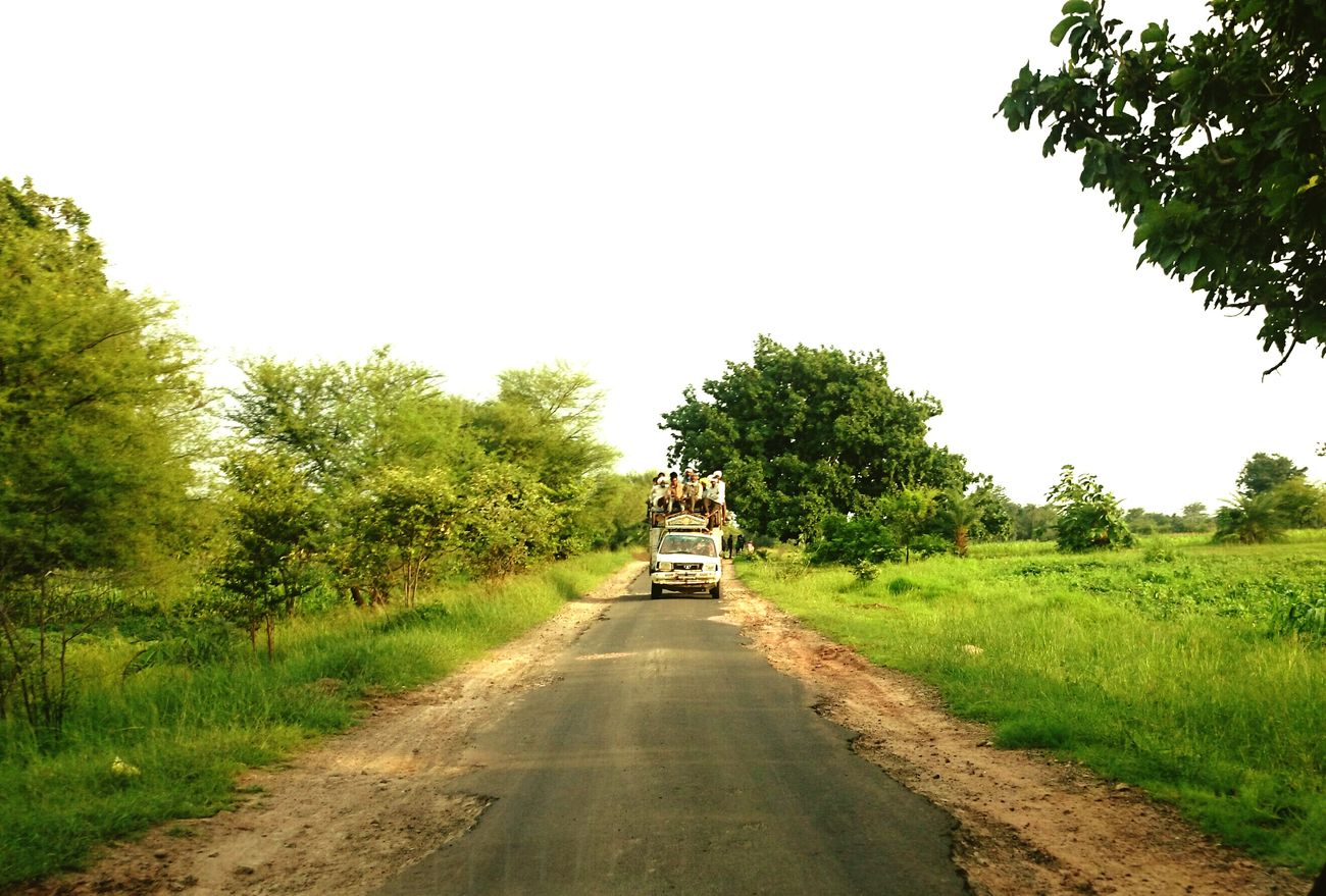 Village Road Car Fully Loaded
