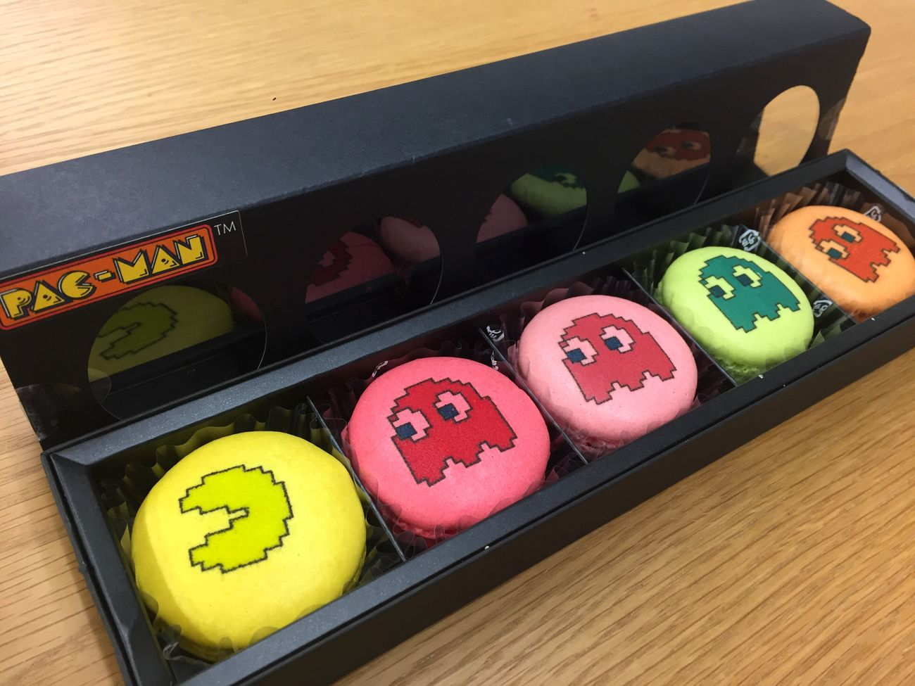 Pac-Man Macaron♡ Number High Angle View Multi Colored Indoors  No People Close-up Freshness Day Macarons Pacman