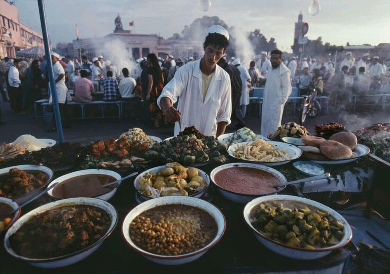 In Morroco Elegance Everywhere Maroccofood Love ♥