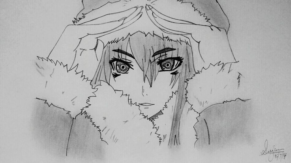 First Time Drawing Anime My Drawing Drawing ArtWork Art Artistic Anime Anime Drawing