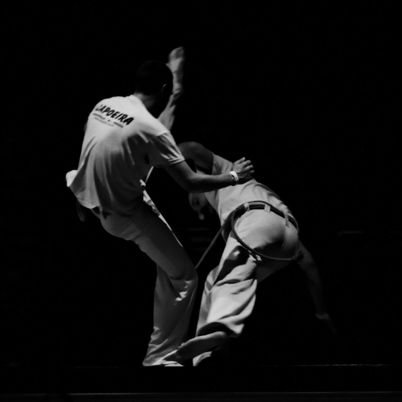Art Martial Black And White Brasil Capuera Combat Dance Noir Et Blanc