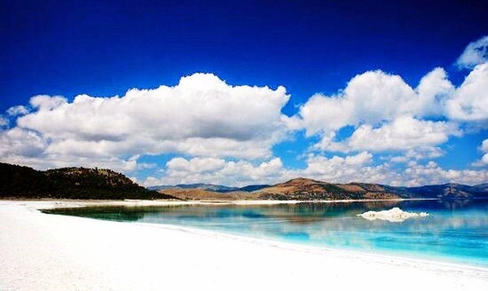 Salda Lake Whıte Islands Turkey