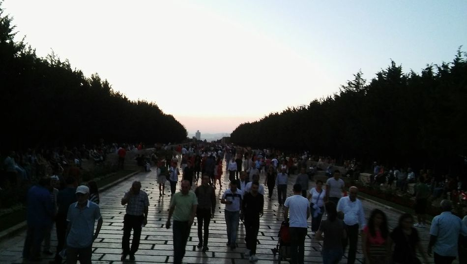 Large Group Of People Sunset Politics And Government Tree Outdoors Adult Men People Real People Adults Only Sky Military Uniform Only Men Day Charity And Relief Work Türkiye Perspective Ankara/turkey Turkishfollowers Anıtkabir City Life City
