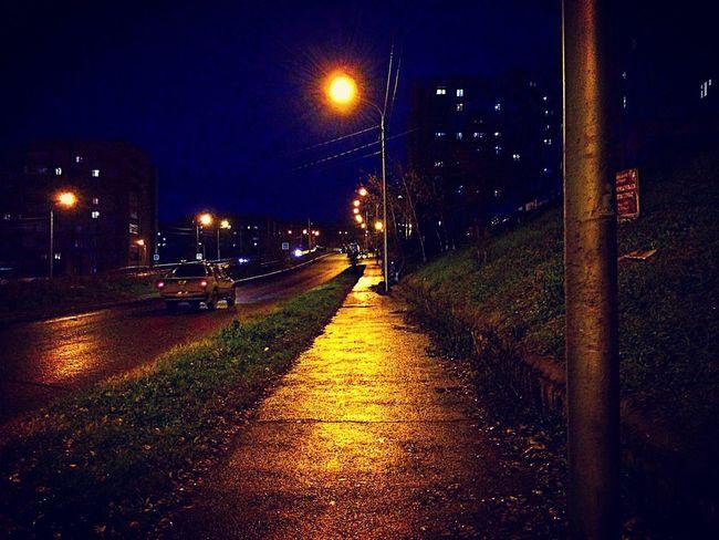 Illuminated Night Street Light No People Autumn City 😚