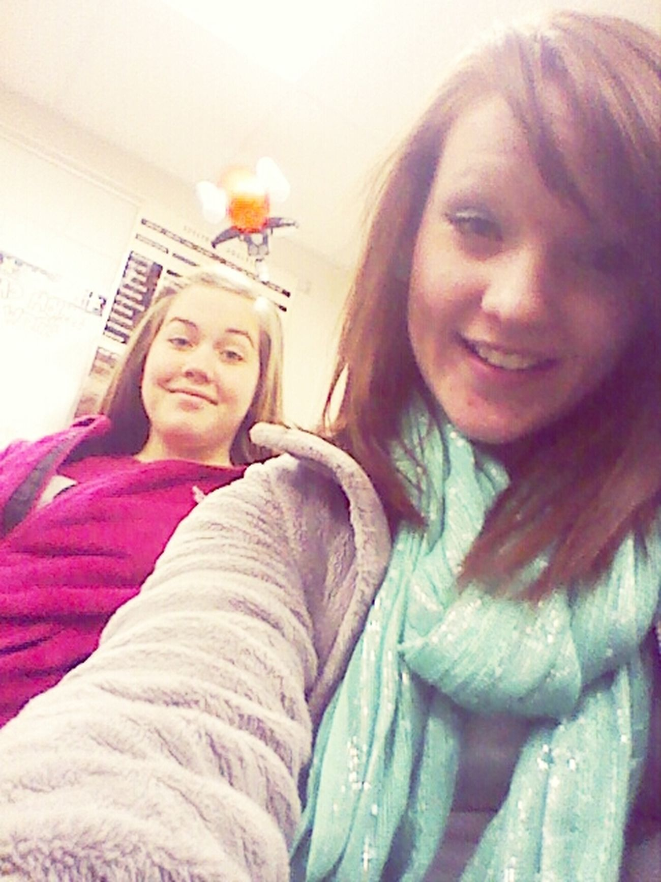 at school. with Hannah. boo(((((((;;;;;;