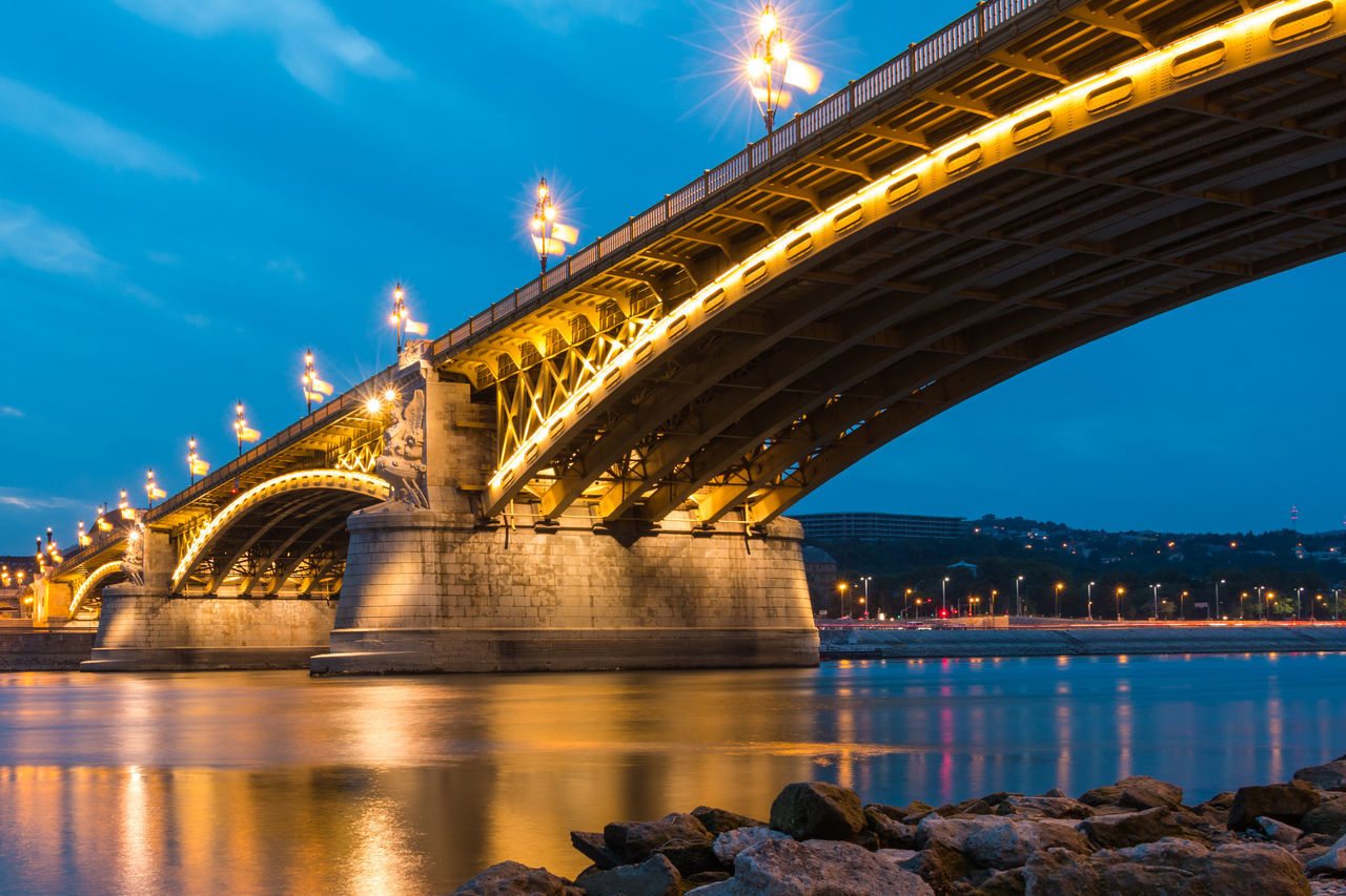 Beautiful stock photos of hungary, Architecture, Bridge - Man Made Structure, Budapest, Built Structure