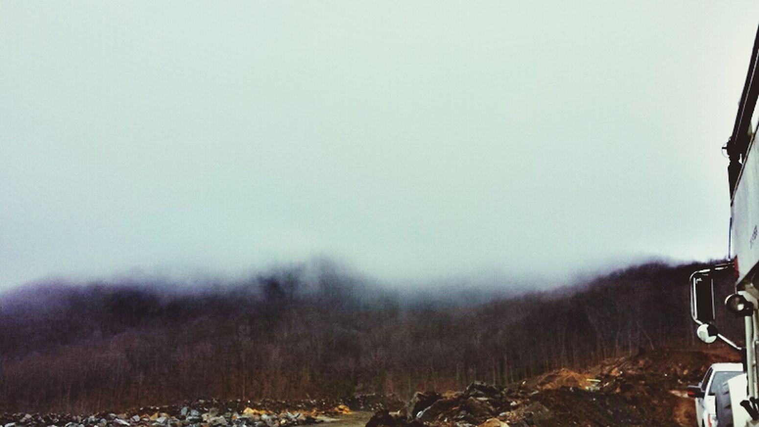 Foggy Morning At Work