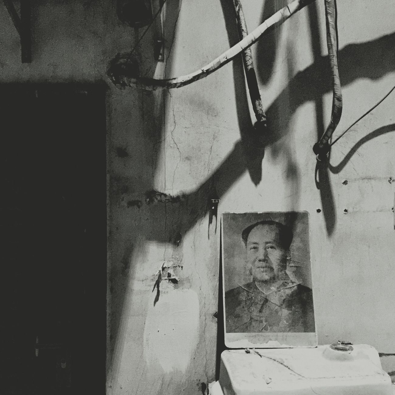 Demolition Stories Demolition Zone Urban Geometry Beauty Of Decay Destruction Hutong Black And White Photography Black And White Blackandwhite Urban Decay Shanghai Mao Tse Tung