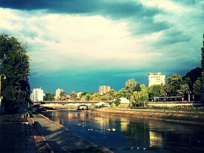 One sunny day First Eyeem Photo Sun Nisava River Water Reflections