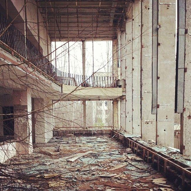 припять дк_энергетик чернобыль Chernobyl pripyat
