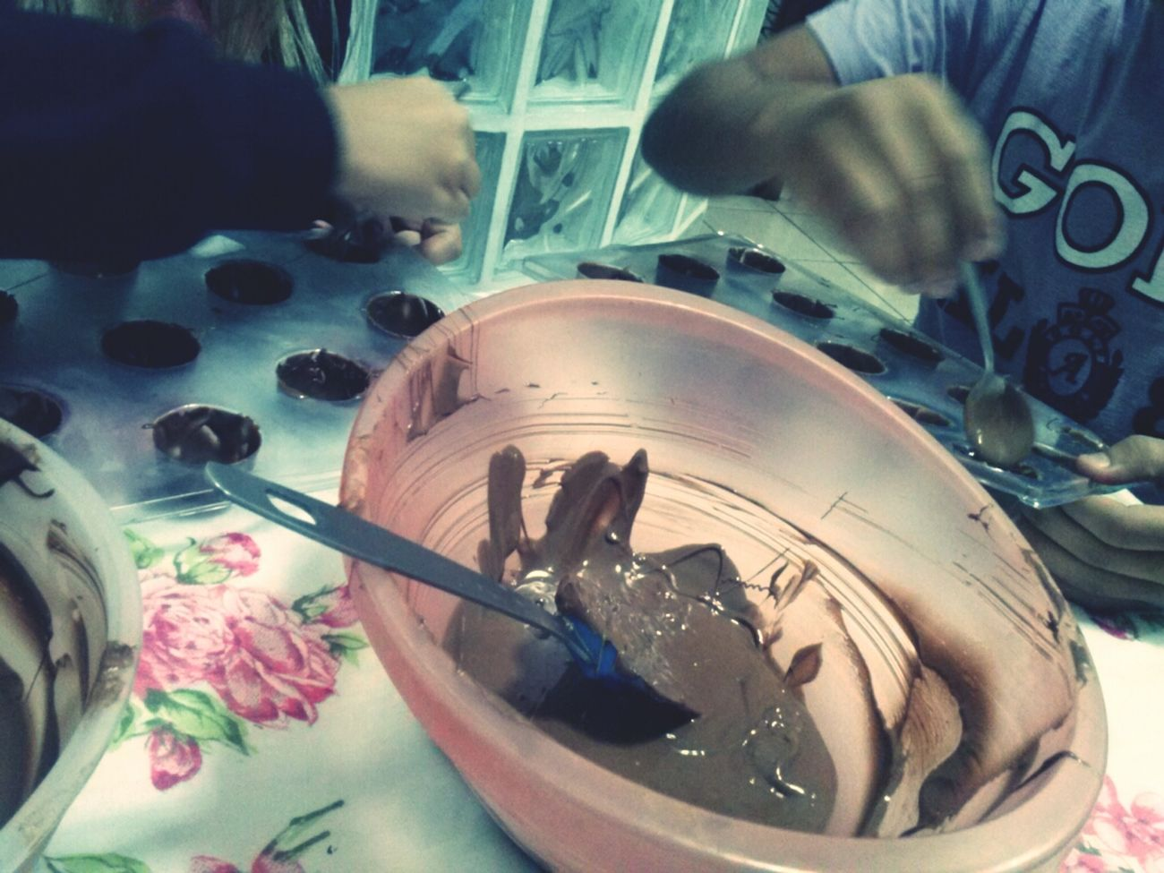 Amor de chocolate.