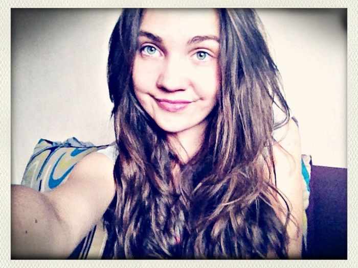 Selfie Polishgirl Morning Smile