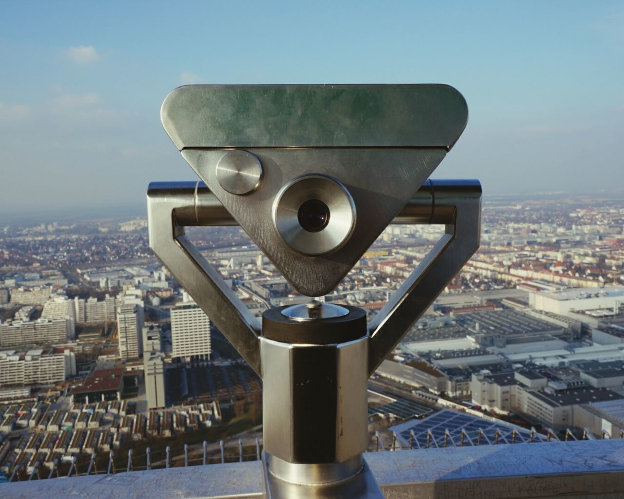 Munich Tower Olympic Park  GERMANY🇩🇪DEUTSCHERLAND@ Germany Binoculars Town Cityscapes Cityscape