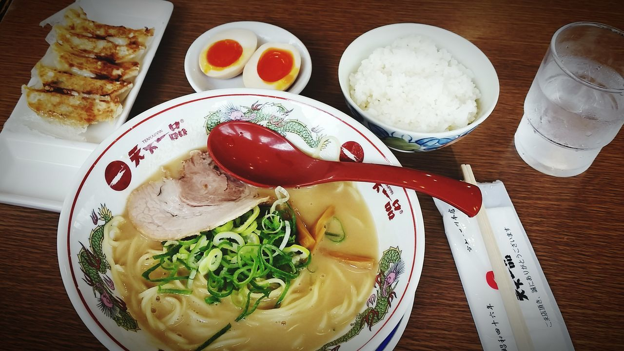 """Pride for having a thicker soup! All I can say is """"OISHII""""👌😋👍 Ramen OSAKA Japan Happy Sundayy !♥ Praisethelord Check This Out Itadakimasu Foodtrip Lunch Japan Adventure"""