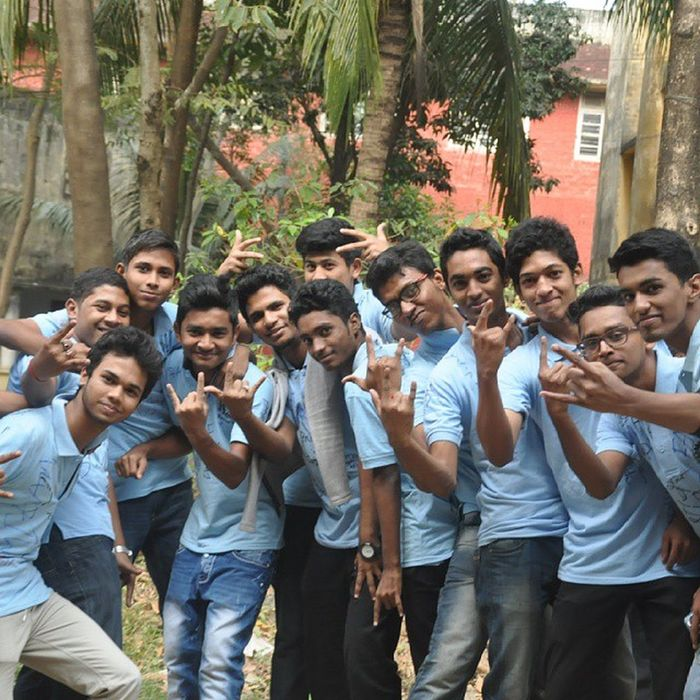 Rag day pic Wid Commarce clg friends