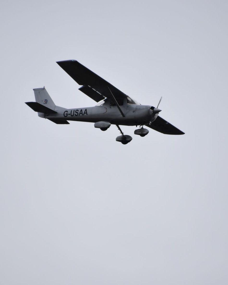 Taking Photos Light Airplane Nikon D5500