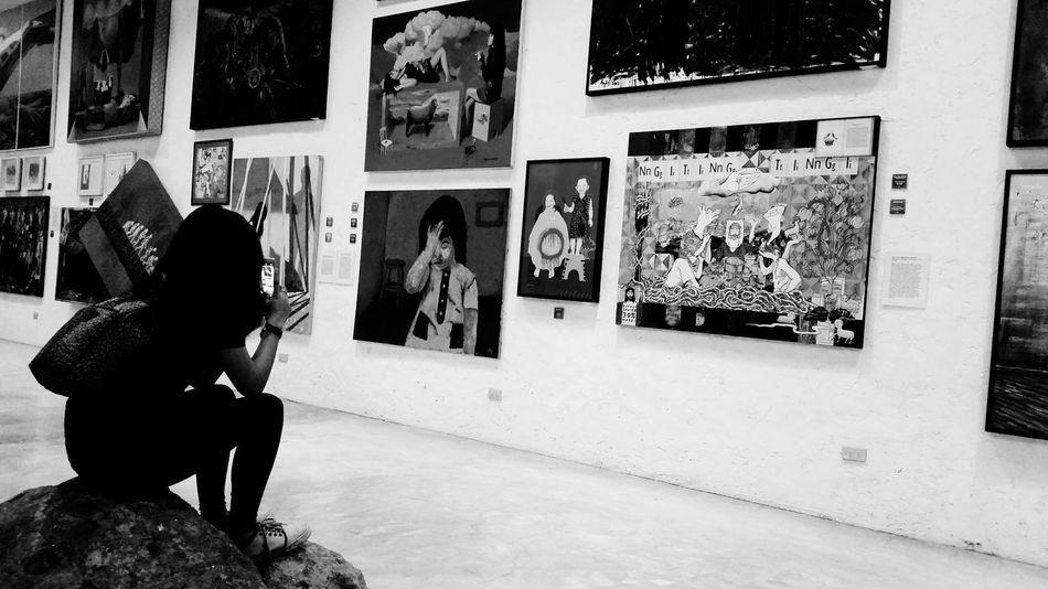 Girlysaturninophotography Museum Eyeemphotography Painting Art ArtWork Art, Drawing, Creativity Black And White Art Gallery