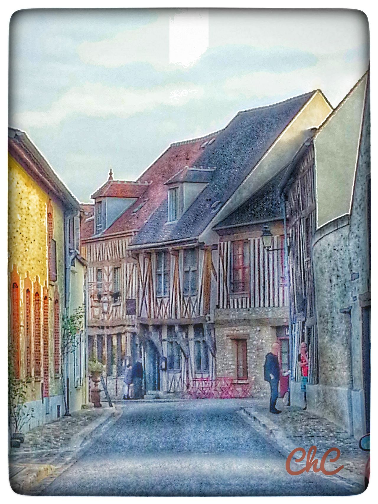 Old Shop Old House Hdr_Collection Myfavoriteplace Vieille Maison Old Town Taking Photos à Provins en France 🏡 🏠 🏡