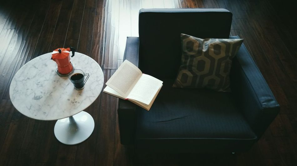Beautiful stock photos of los angeles, Armchair, Book, Coffee - Drink, Coffee Cup
