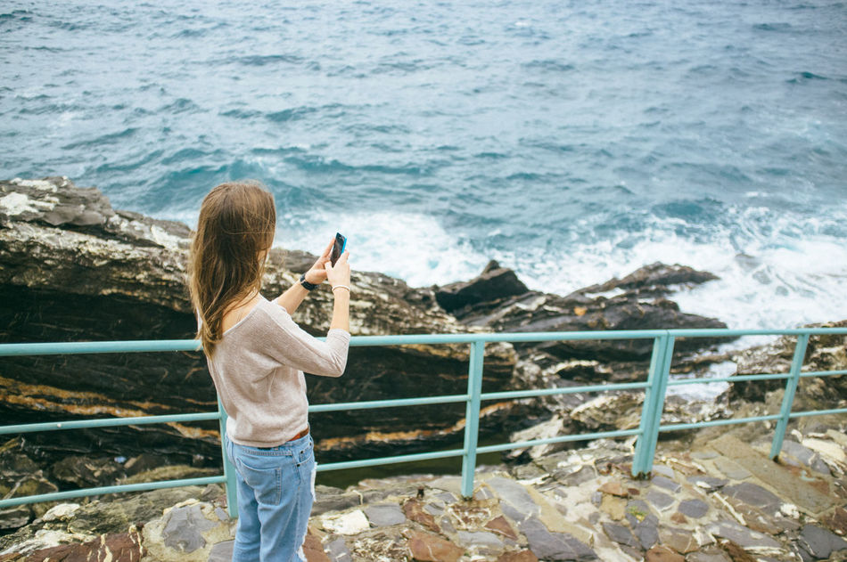 Beautiful stock photos of text message, Brown Hair, Coastline, Day, Elevated View