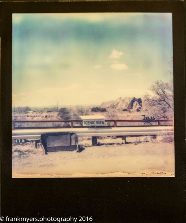 New Mexico Impossible Project Desert Landscape Mountains Scenics