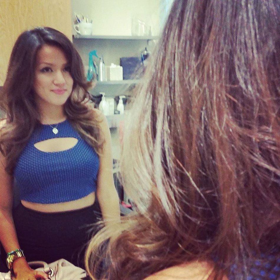 Beautiful Brunette with just a it of a wave... Brunette Hairstyle Hair Hairphoto PatriciaLynnLaasHairCo