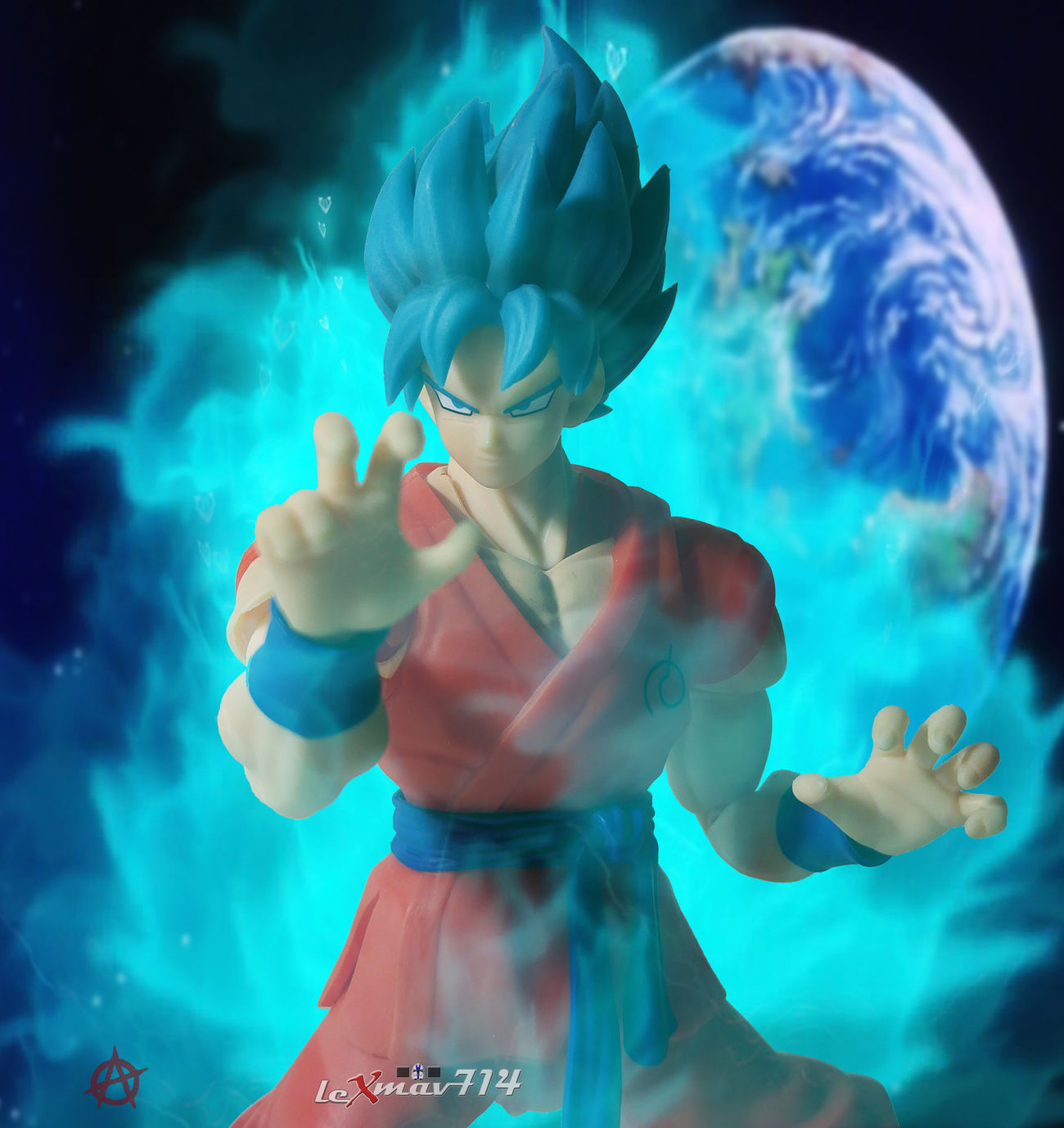 Ascending yet again to a new form of power. A power surpassing a god. Toyphotography Anarchyalliance Toygroup_alliance Toycommunity Toycrewbuddies Shfiguartsphotography DBZ Ssgssgoku