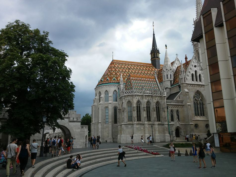 Matyas Church Clouds And Sky Check This Out First Eyeem Photo Budapest, Hungary Focus Hello World Background Bad Weather