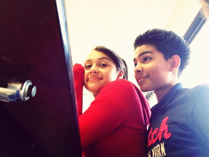 He Didnt Want To Take A Picture -.- But I Love Him <3 C: