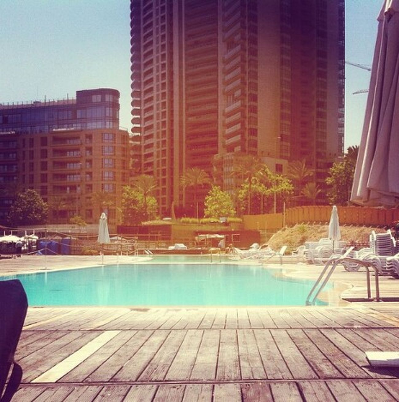 Swimming Pool Swimming Enjoy ✌ Escaping From The Heat