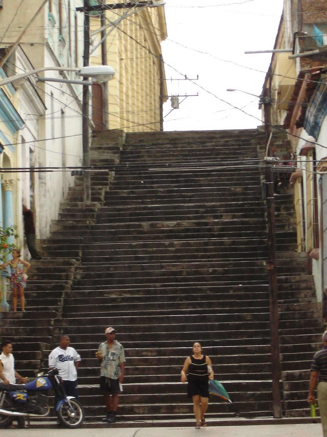 Architecture Building Building Exterior Person Steps And Staircases Walking Stears