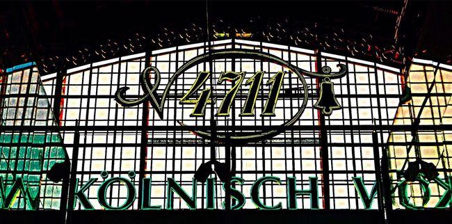 RePicture Travel Train Station Railway Cologne , Köln,  Cologne Train Station Germany German Art 4711 - Kölnisch Wasser 4711
