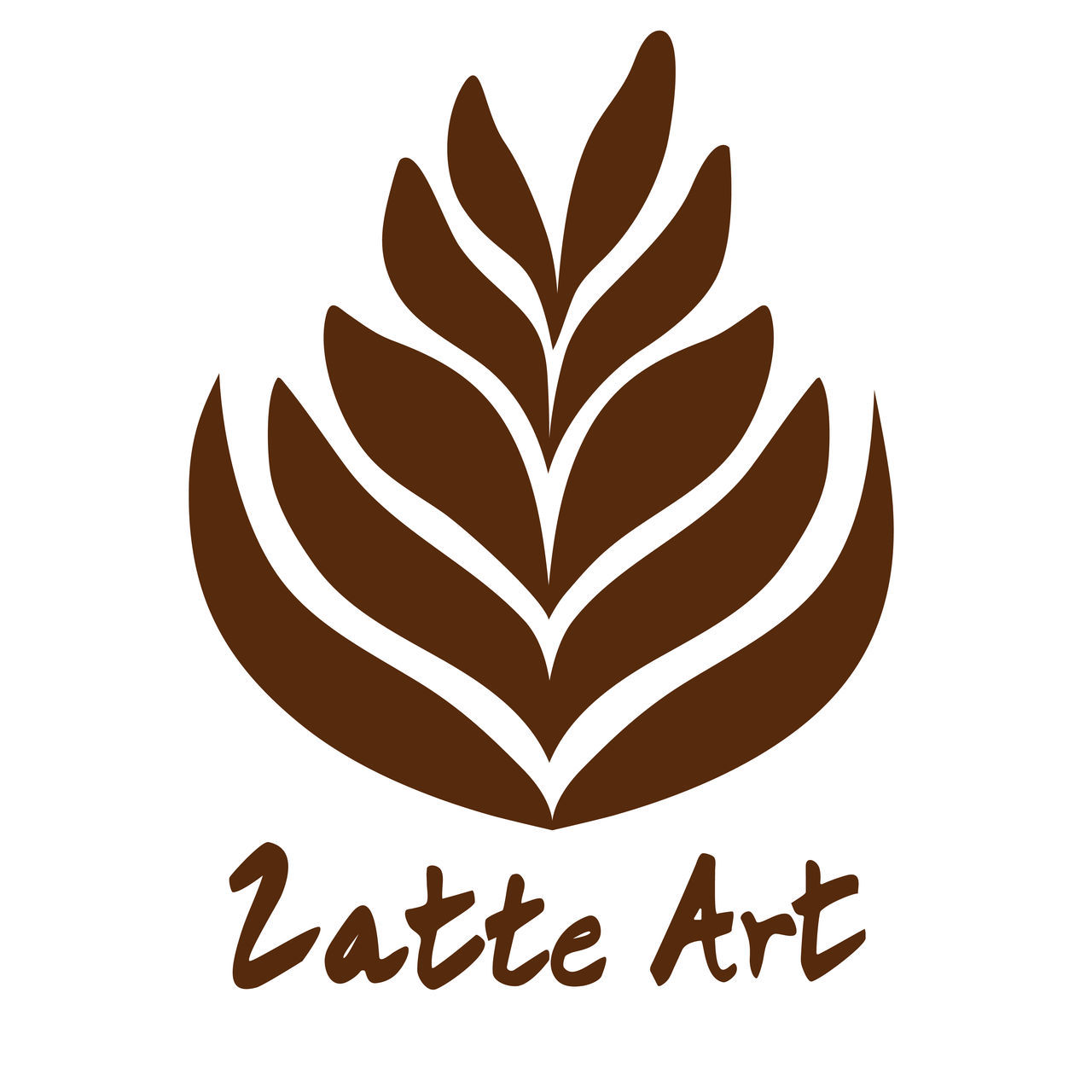 Latte Art Coffee Logo Icon Symbol Design America Art Beige Beverage Cafe Caffeine Caramel Chocolate Cinamon Coffee Cream Cute Design Dessert Freshness From My Point Of View Froth Italian Latte Milk Shop Smooth Tasting