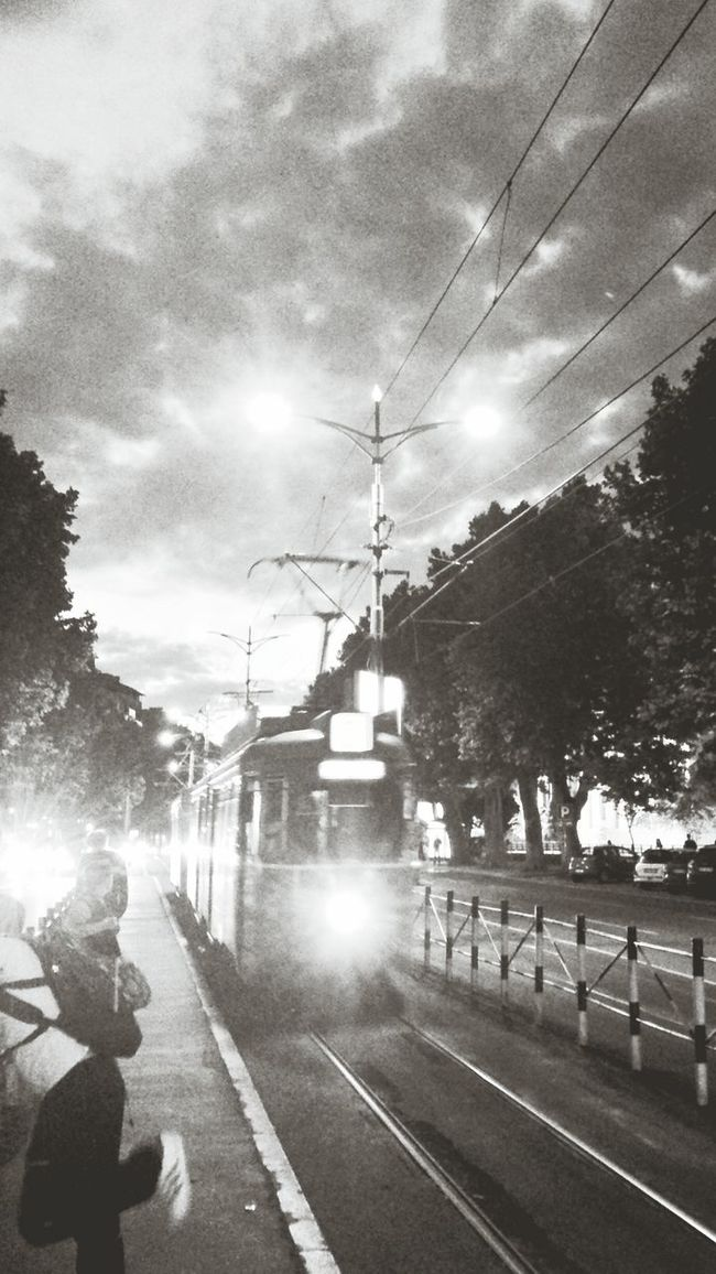 Tram No3 Summer Night Rush