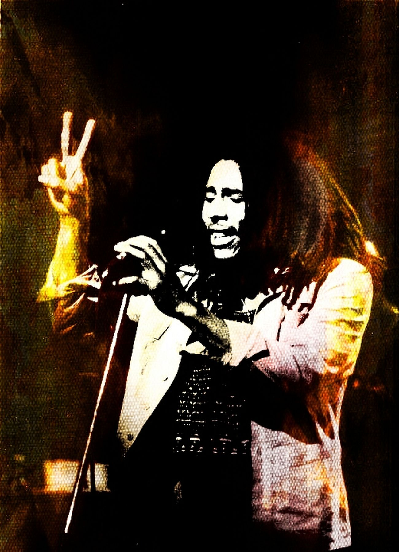 yes I peace in ah the place of War! one love to the Legend. Relaxing Check This Out Color Portrait Art