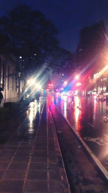 ☔🌁🌌💫💡 First Eyeem Photo Taking Photos Love Cityscape CityWalk Urbanphotography City Life City Street Lights City Lights Streetlights Rain Cityraining Rainynights