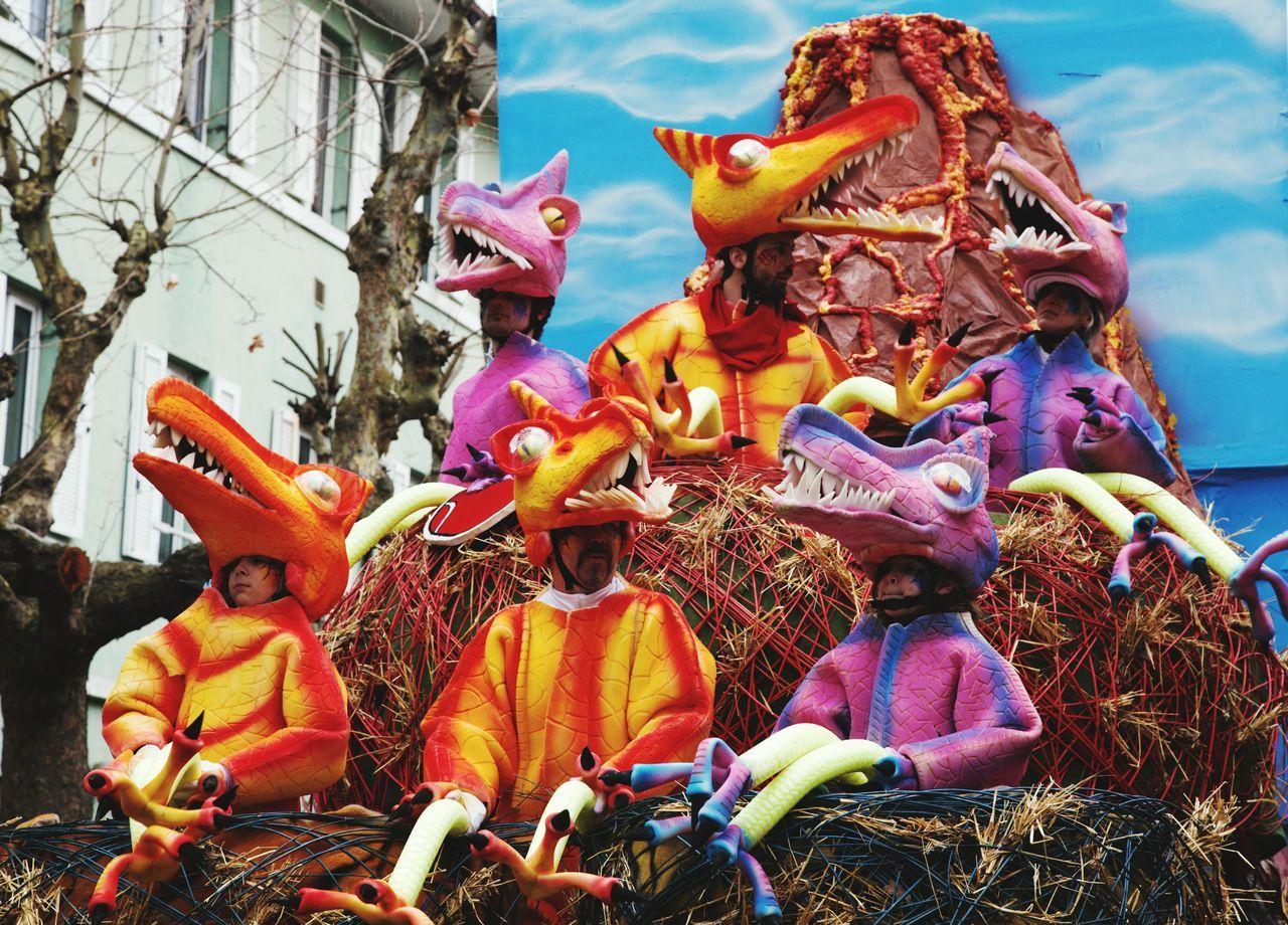 Colors Of Carnival Carnevaldemuja63 Muggia Carneval Company Ongia Dinosaures Muggia