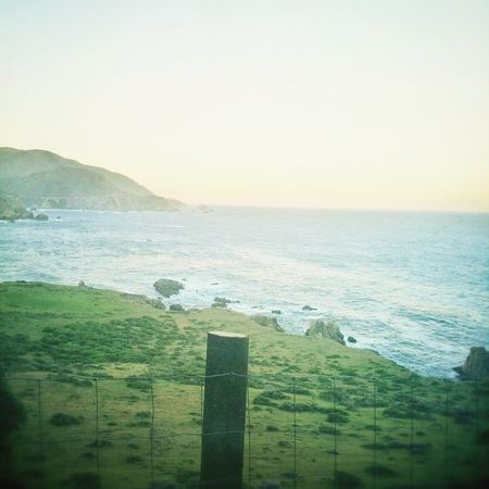 My view at the start of the Big Sur 10.6 mile... Foggy Sunrise Landscape Beautiful Big Sur