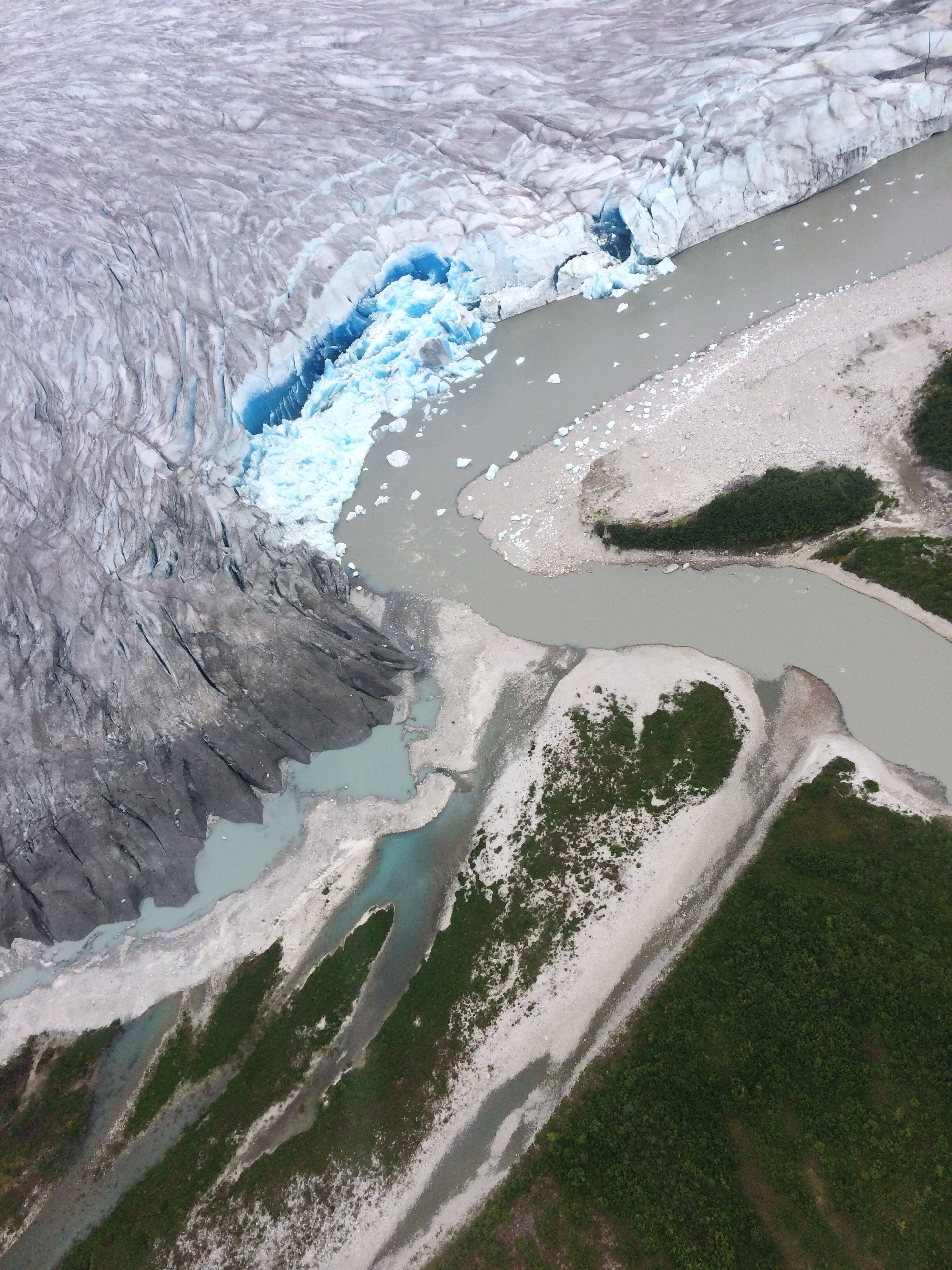 Honey, Global Warming is real Alaska View From Above View From An Airplane Glacier Melting Global Warming Sadness Blue Ice Taku Glacier Calentamiento Global Derretimiento North Pole Juneau Airplane